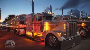 Chrome And Chicken Lights Chicken Lights Chrome At The Super Rigs Truck Show