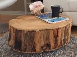 tree stump coffee table images diy c