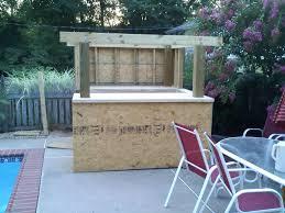 diy outdoor bar diy outdoor bar table landscaping backyards ideas attractive