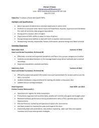 Parts Clerk Resume Sample Counter Payslip Excel Template Examples