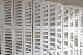 classic white louver shutter design ideas
