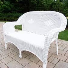 resin wicker patio loveseat hd90027 l