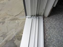 See Us In Action - Exterior sliding door track