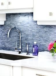 blue backsplash kitchen architecture blue tile attractive white kitchen with