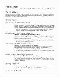 Charge Nurse Resume Unique Examples Nursing Resumes Ideas Of 9