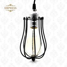 bird cage lighting. Lampenkap Vintage Industrial Lamp Cover Metal Bulb Birdcage Lights Iron Wire Cage Lampshade Edison Pendant Lighting-in Covers \u0026 Shades From Bird Lighting