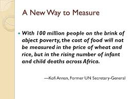 global food insecurity effects on children what the world eats  a new way to measure 100 million people on the brink of abject poverty