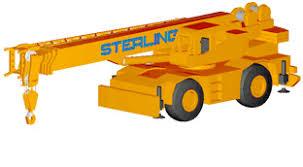 Sterling Crane Rough Terrain Crane