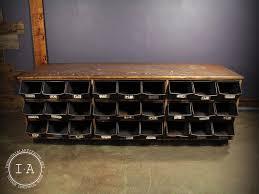 industrial furniture hardware. Vintage Industrial 27 Drawer Hardware Store Storage Cabinet Furniture E