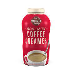 Be careful how much you scoop into your cup or risk serious portion distortion. Wellsley Farms Non Dairy Creamer 2pk 35 3 Fl Oz Bjs Wholesale Club