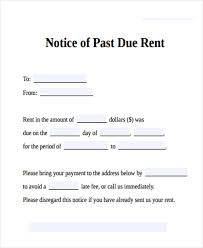 27 Images Of Past Due Rent Notice Template Bfegy Com