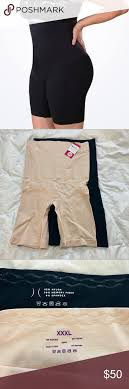 Shapermint Size Chart Two Pair High Waisted Shaper Shorts Size Xxxl Two Pair Of