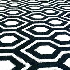 black white geometric rug lattice modern trellis rugs of beauty within and inspirations outstanding