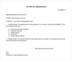 Resign Template 37 Simple Resignation Letter Templates Pdf Doc Free Premium