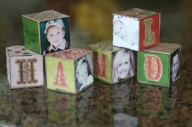 creative homemade christmas decorations. Homemade Block Photo Ornaments · Sassy Creative Christmas Decorations T