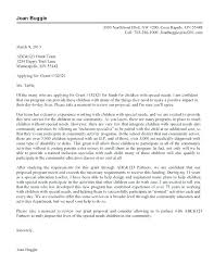 Cover Letter For Non Profit Sample Grant Proposal Template