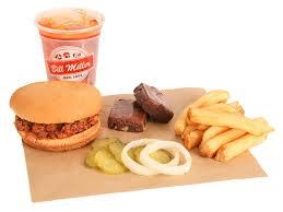 Buckaroos Chopped Bbq Sandwich Bill Miller