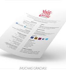 resume designs slick personal branding how design kriss caacuteceres