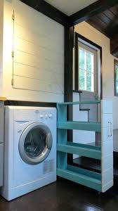 tiny house washer dryer combo. Plain House Tiny House Washer Dryer Combo Double Loft Cottage On Wheels With Floor  Storage On Tiny House Washer Dryer Combo