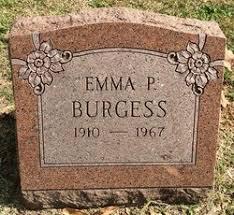 Emma Pauline Holt Burgess (1910-1967) - Find A Grave Memorial