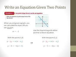 kuta linear equations point slope ws 2 jennarocca