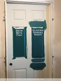 hallway paint colorsHallway Interior Door Paint Color Final Selection