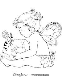 Small Picture 155 best Faerie Coloring Pages images on Pinterest Coloring