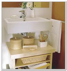 Bathroom Under Sink Storage Solutions : Tomthetradercom. View Larger