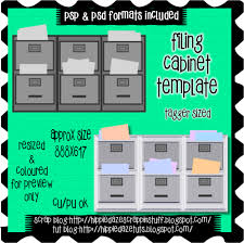 hon file cabinet label template