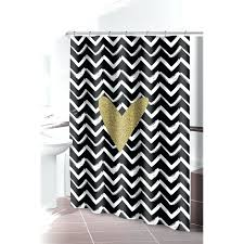 grey yellow white chevron shower curtain bathroom design white smlf anchor