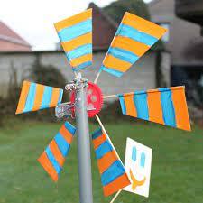 small wind turbine that kids can help build
