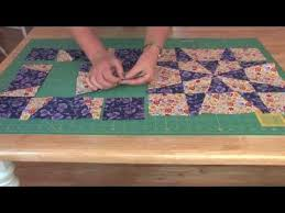Quilting video from Maggie Ball- Template free op-art kaleidoscope ... & Quilting video from Maggie Ball- Template free op-art kaleidoscope quilts Adamdwight.com