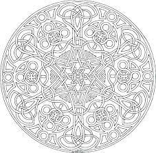 Advanced Mandala Coloring Pages Pdf Free Printable Mandala Coloring
