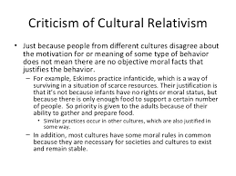 phi ethical issues in health care casuistry cultural relativi   5 criticism of cultural relativism