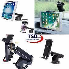 Giá Đỡ iPad, Máy Tính Bảng Trên Xe Hơi Hít Chân Không Cao Cấp - iPad Holder  For Car - Giá đỡ - Chân đế gắn ô tô, xe máy Thương hiệu