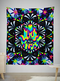 Trippy Outdoor Lights Trippy Hamsa Tapestry In 2019 Tapestry Trippy Tapestry