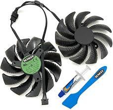 For GTX960 GTX970 GTX1050 GTX1060 DC12V 0.5A T129215SU ...