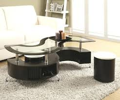 glass coffee table sets brown glass coffee table furniture village glass swivel coffee table