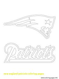 nfl team outlines new england patriots logo american football