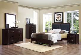 Wood 7 Piece Bedroom Set