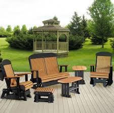 glider rocker outdoor chairs. garden glen porch glider set rocker outdoor chairs p