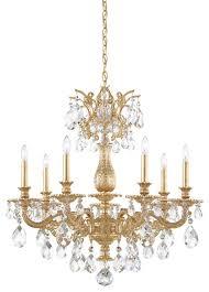 schonbek lighting 5677 26o milano french gold chandelier