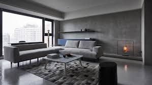Apartment Designers Impressive Shades Of Grey Decorate Sombre Luxury Apartment In Taiwan