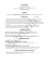 Call Center Resume Sample Customer Service Resume Samples Writing Guide shalomhouseus 60