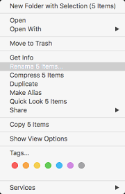 Multiple Rename Of Files Within Finder | Mac Tricks And Tips