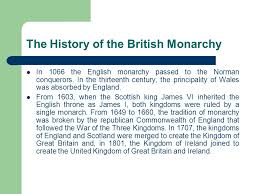 the monarchy in britain ppt video online  the history of the british monarchy