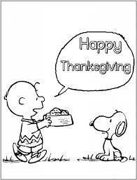 Dazzling Charlie Brown Thanksgiving Coloring Pages For A Coloring