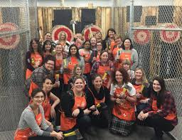images home depot. Home Depot Canada Employees At An Axe Throwing Event Images