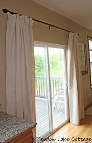 sliding glass door curtains and ds curtain rod size for pertaining to size 1033 x 1600