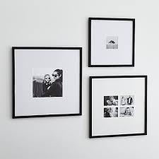 Square black frame Eye Timberhandmade Amusing Black And White Photo Frames Matte Wall Crate Barrel